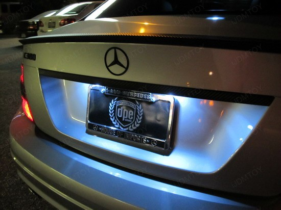 Mercedes - C300 - error - free - LED - bulbs - 1